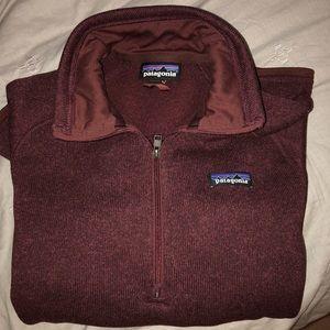 Maroon Patagonia worn ONCE